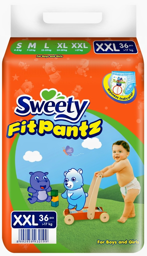 Трусики SWEETY Fit Pantz XXL36 (17-25)