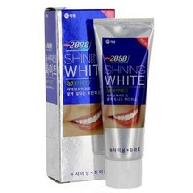 Зубная паста Dental Clinic 2080 Toothpaste 3D New Shining White Отбеливающая c 3D эффектом, 100 гр