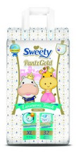Трусики SWEETY Pantz Gold XL32 (14-18кг)
