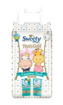 Трусики SWEETY Pantz Gold S42 (3-6кг)